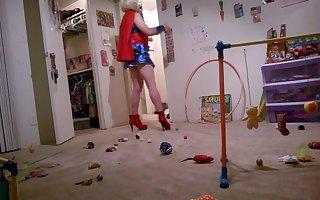 Supergirl Posing