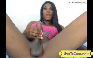 Latina tgirl with monstercock cumshot ONLINE