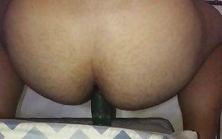 Delicia masturbates