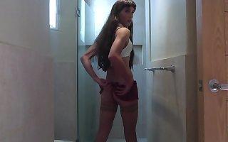 Tranny schoolgirl